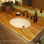 Custom Countertops Bathroom Sink Tacoma Home Remodel Coast Home Improvement