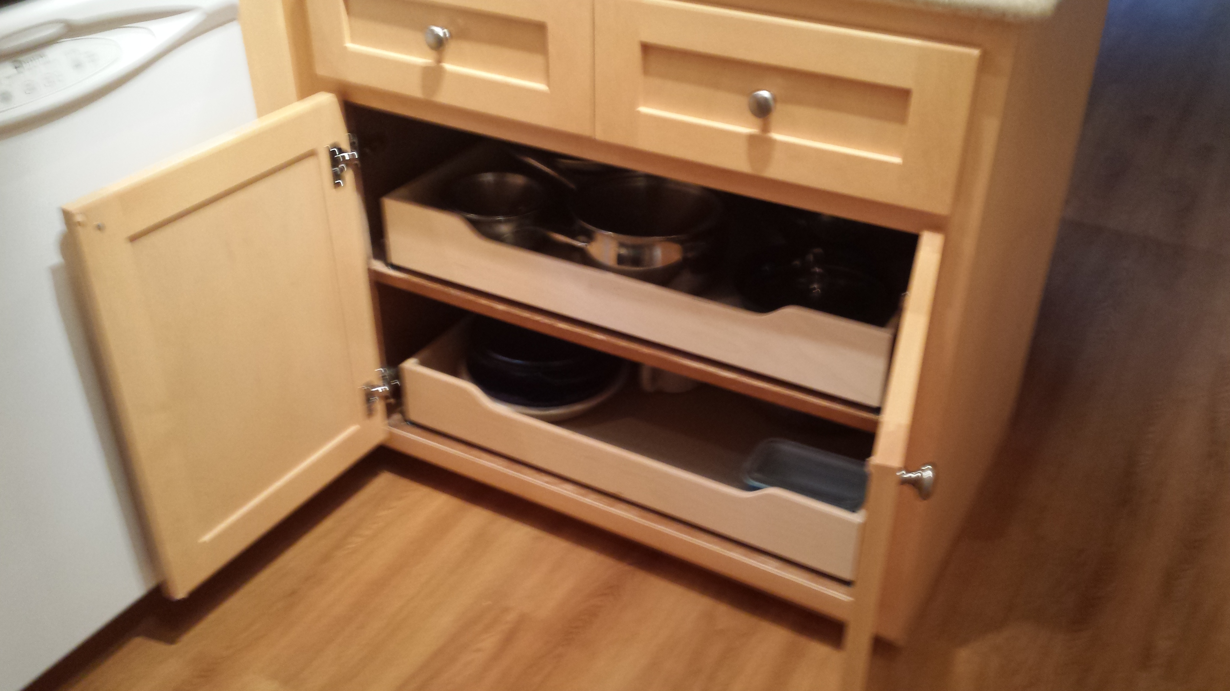 Pull out shelves shelving ta a seattle federal way gig harbor